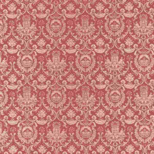Fountain motif wallpaper