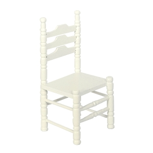 Chairs, white, 2 pcs.
