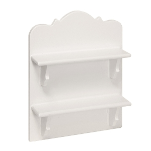 Hanging shelf, white