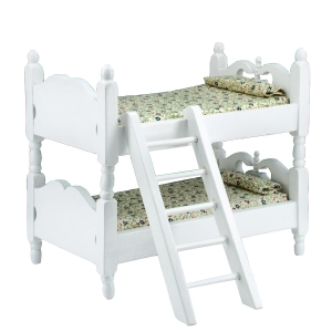 Bunk bed, white