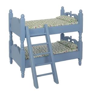 Etagen-Kinderbett, blau