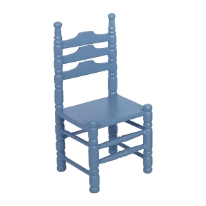 Chairs, blue, 2 pcs.