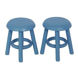 Stool, blue, 2 pcs.