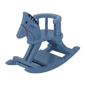 Rocking Horse, blue