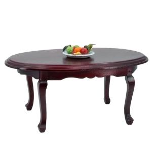 Ovaler Tisch, mahagoni