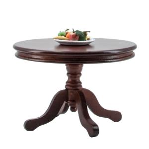 Runder Tisch, mahagoni