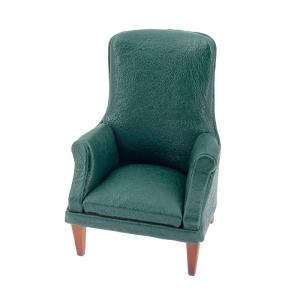 Grüner 'Leder' Sessel