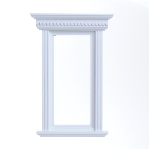Patrician window, white