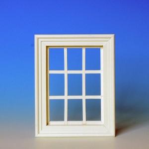 Sprossenfenster, weiß