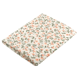 Flowered piece of fabric