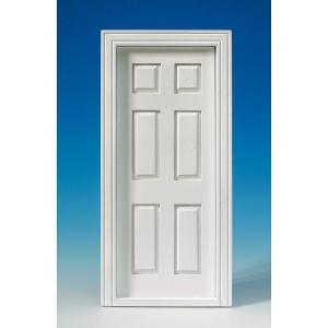 Interior door, white