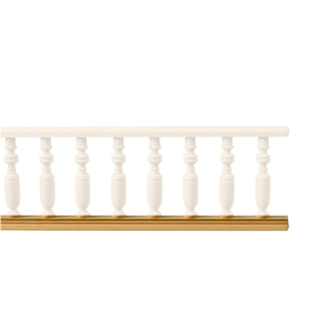 Baseboard for balcony banister