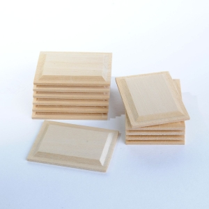 Rectangular wood panels