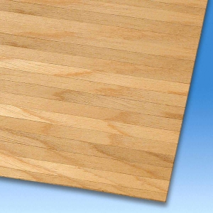 Real wood veneer hall floors