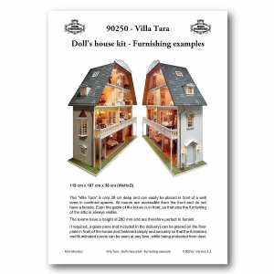 Doll's house kit - Furnishing examples