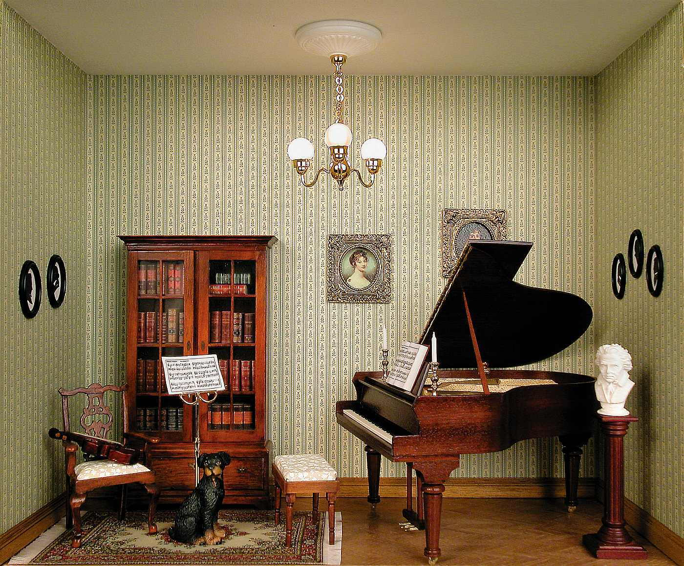 small music room