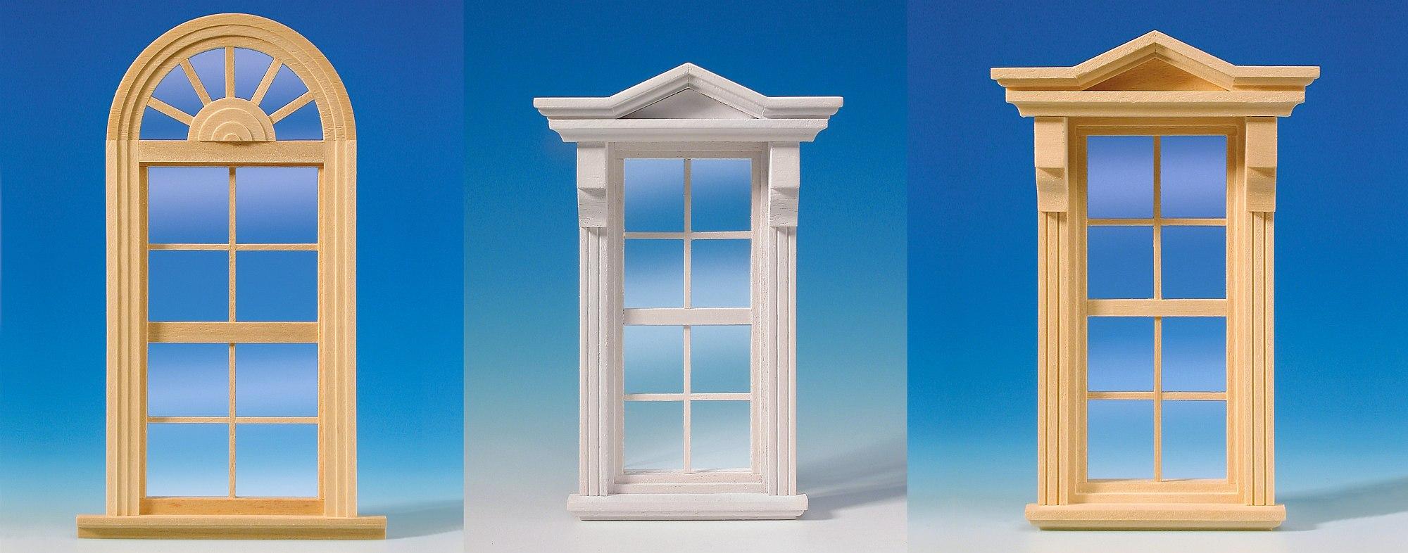 Windows and window accessories for Window and door store