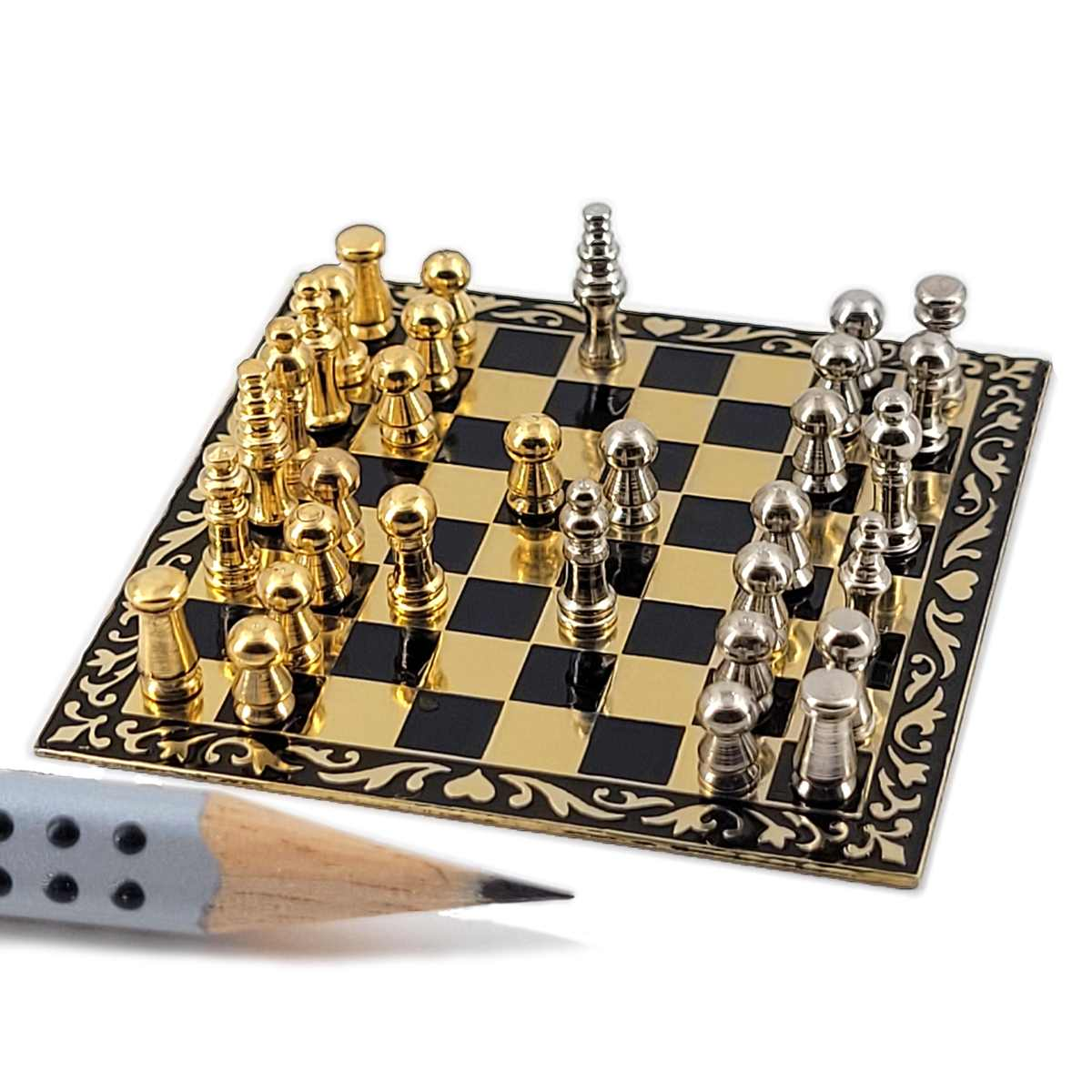 Chessboard with chess figures