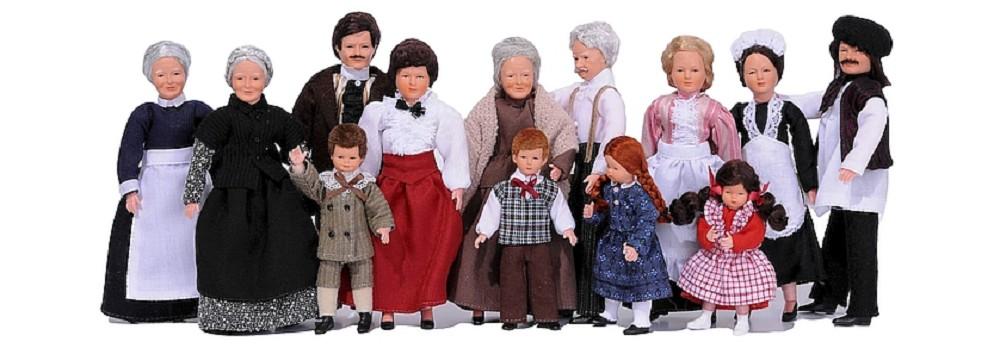 Flexible dolls - The complete range