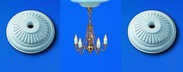 Ceiling lamp rosettes