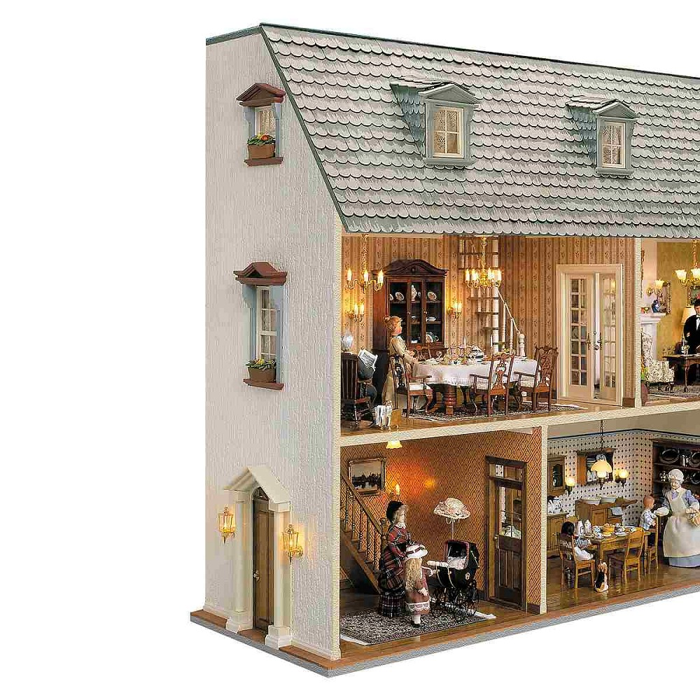 Wandhaus mit abnehmbarem Dach