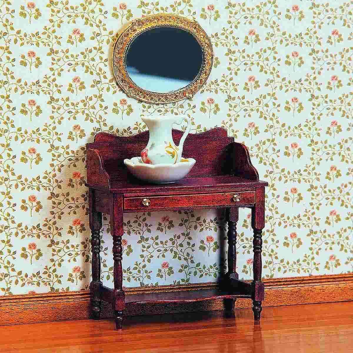 waschtisch mit schublade 40010. Black Bedroom Furniture Sets. Home Design Ideas