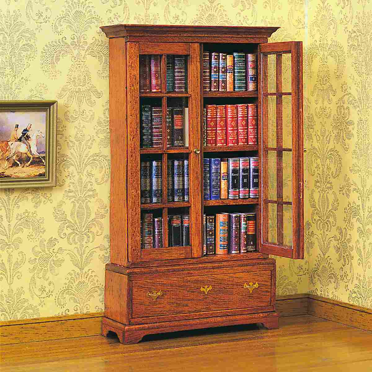 Chippendale bookcase