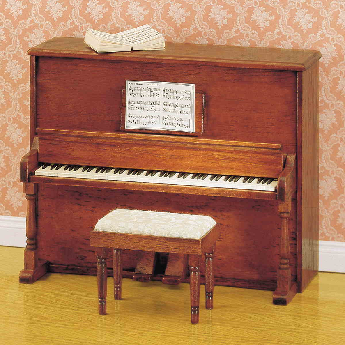 Klavier mit Hocker