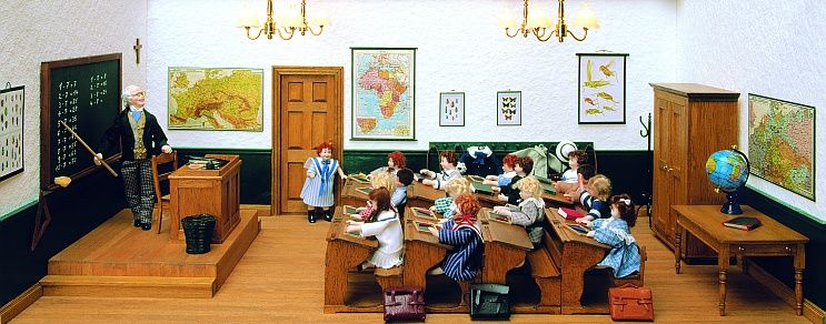 Complete set - The old schoolroom