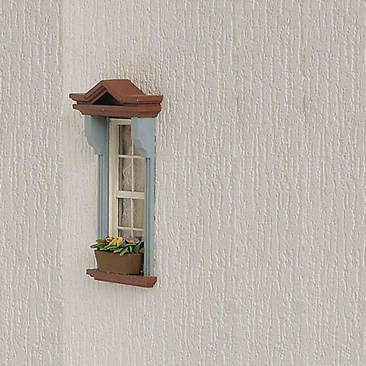 Structured wallpaper for exterior walls