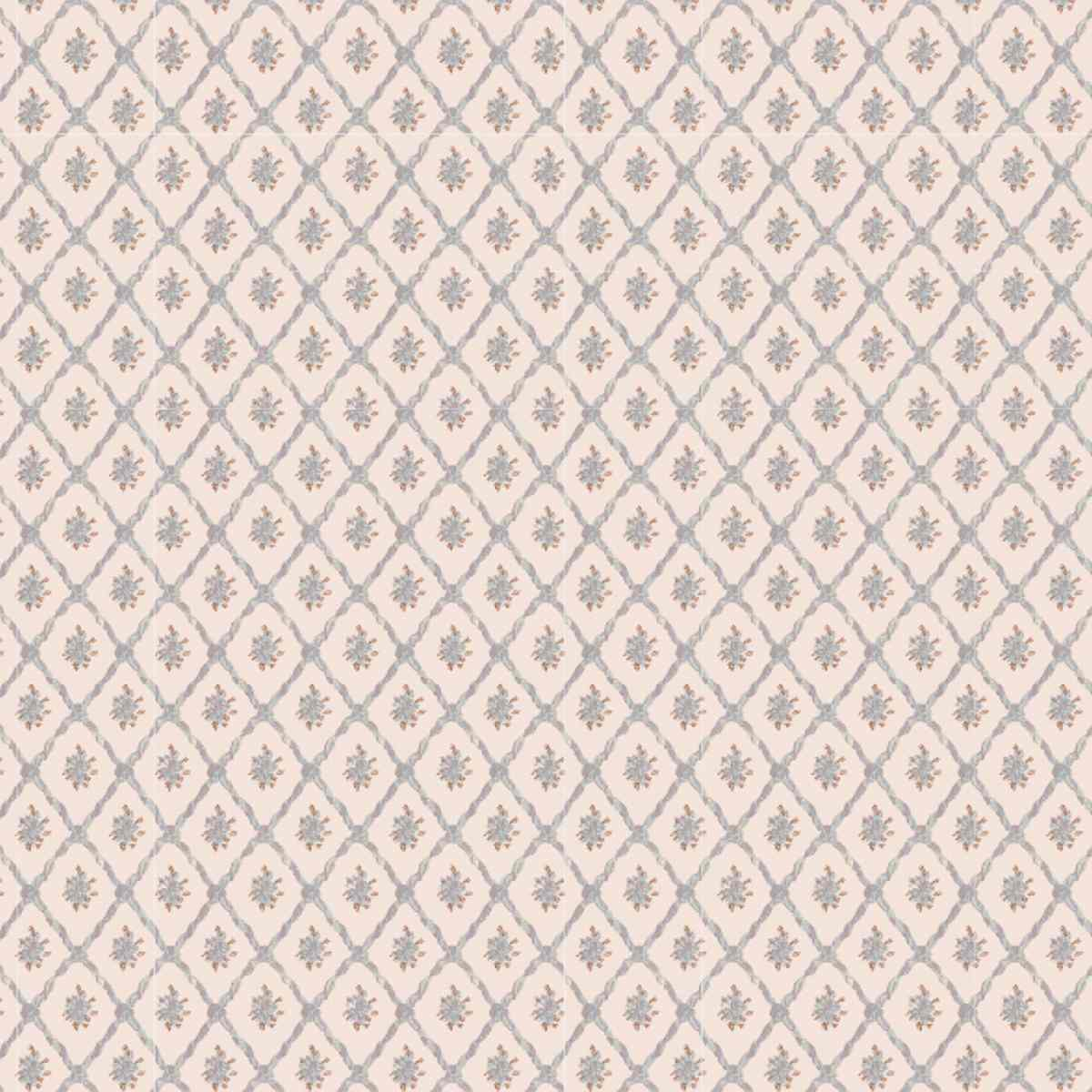 Wallpaper with stripes and borders