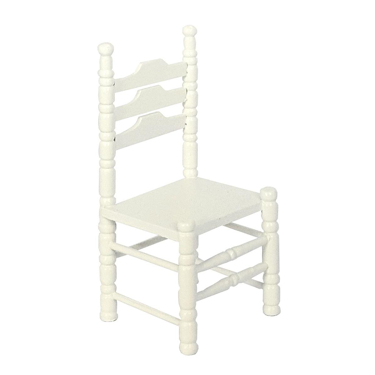 Chairs, white, 2 pcs.