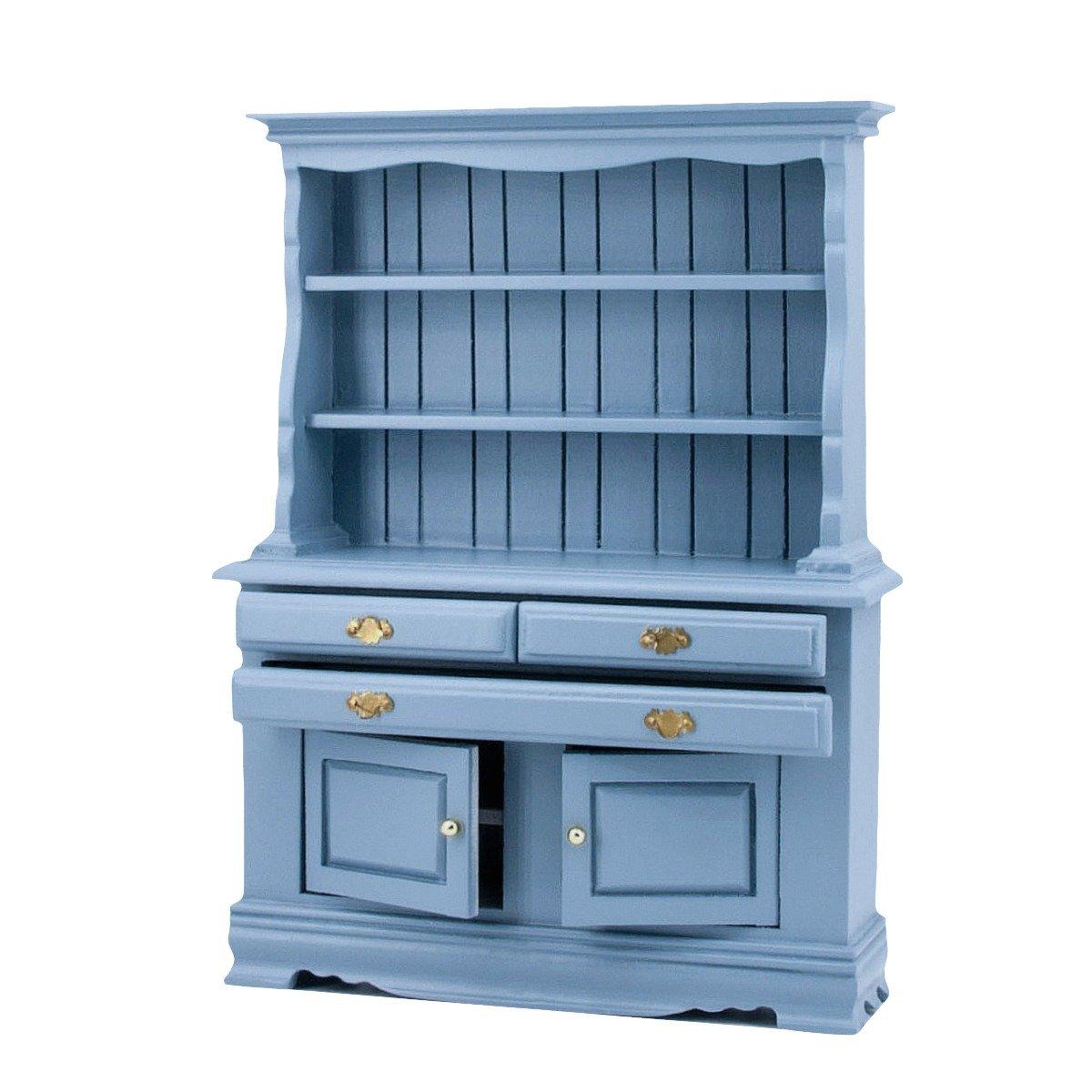 Blaue kuchenschranke for Mobelfolie kuchenschranke