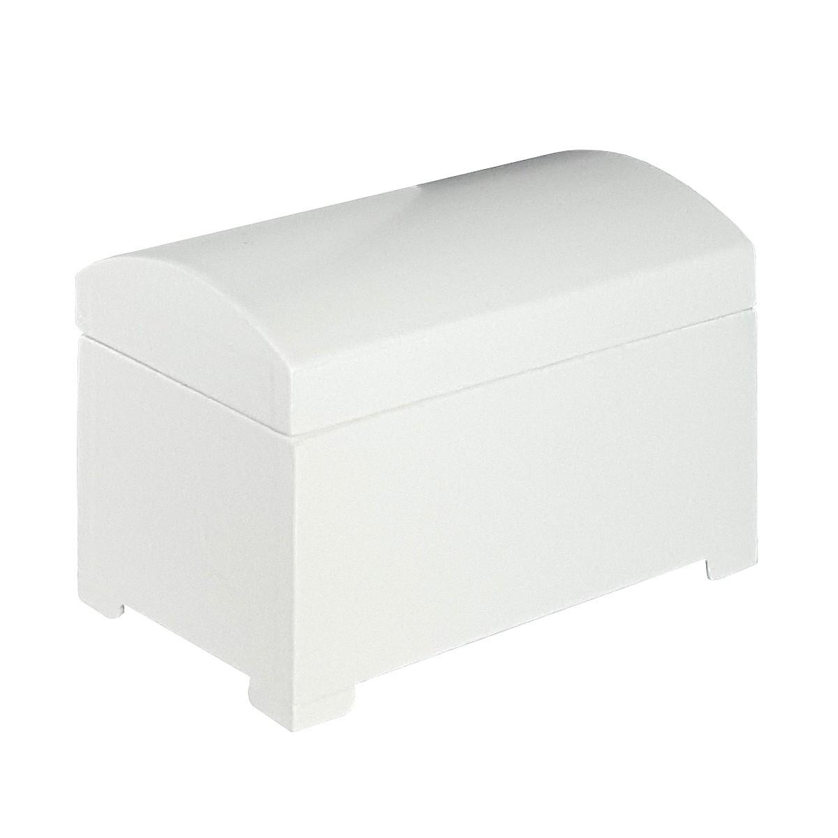 Linen chest, white