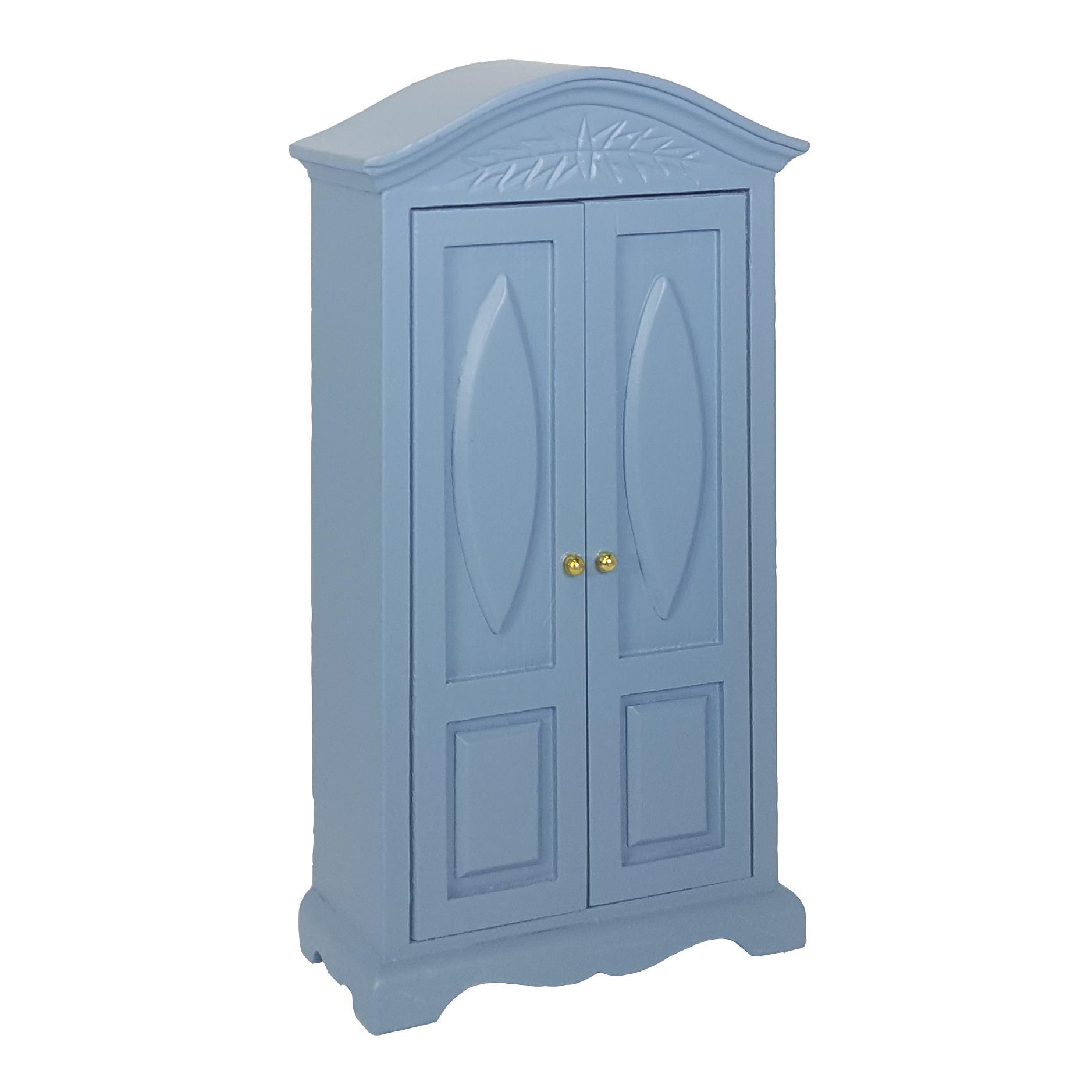 Wäscheschrank, blau-41390