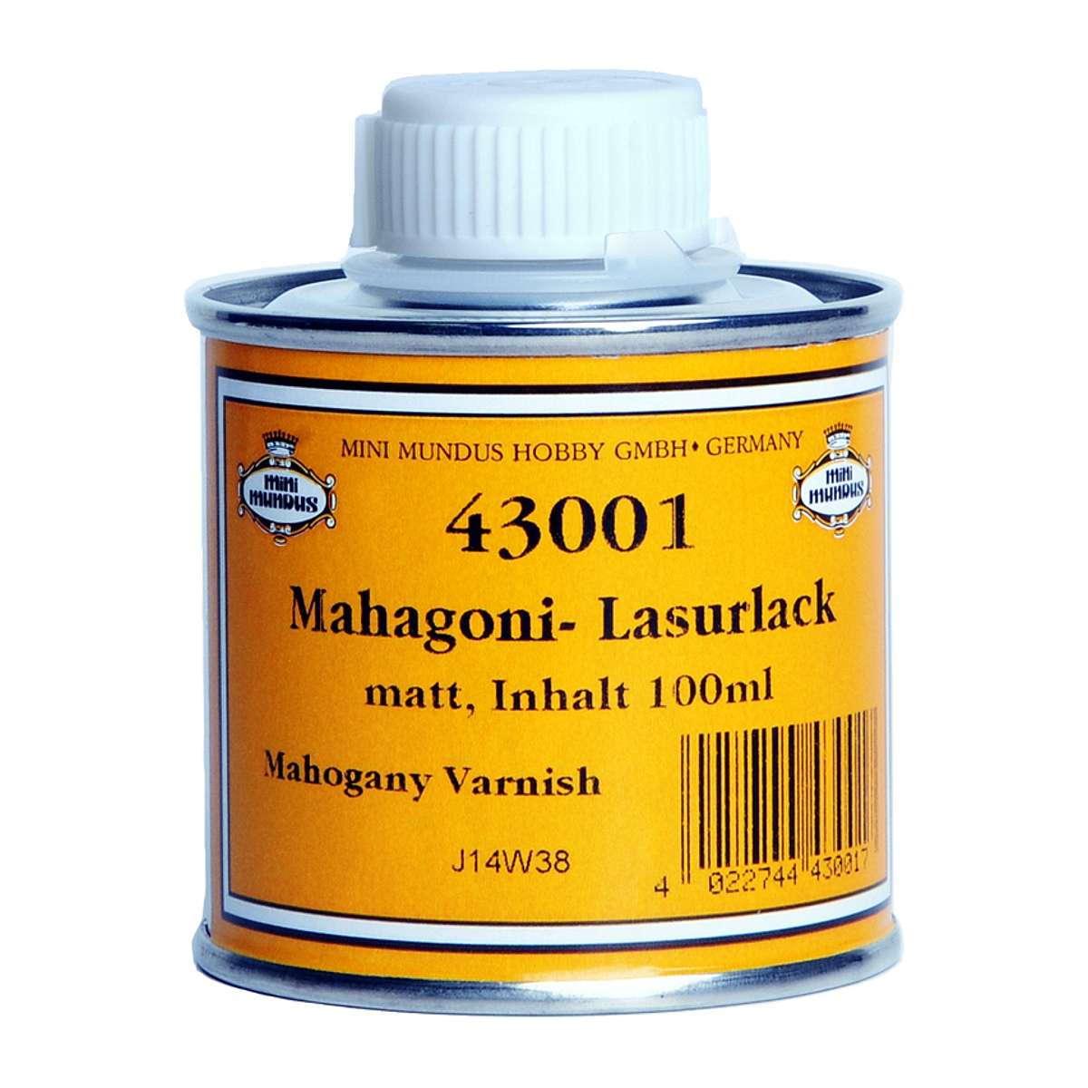 Mahogany varnish