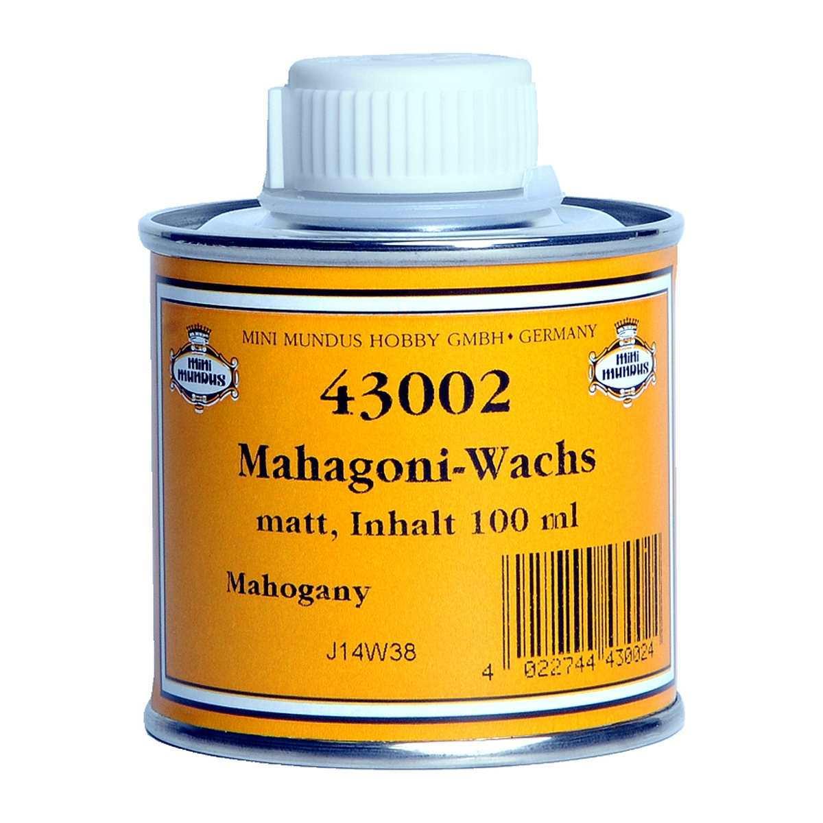 Mahagoni-Flüssigwachs