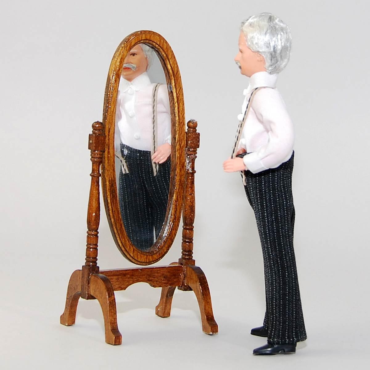 Grandpa with suspenders
