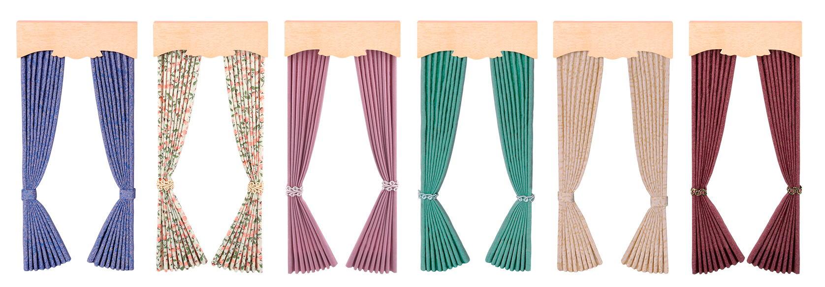 Window curtains and fabrics
