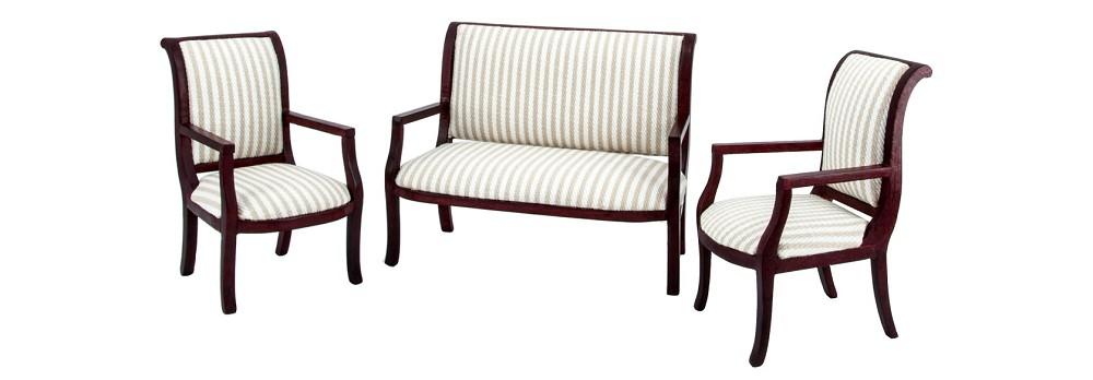 Finished period furniture