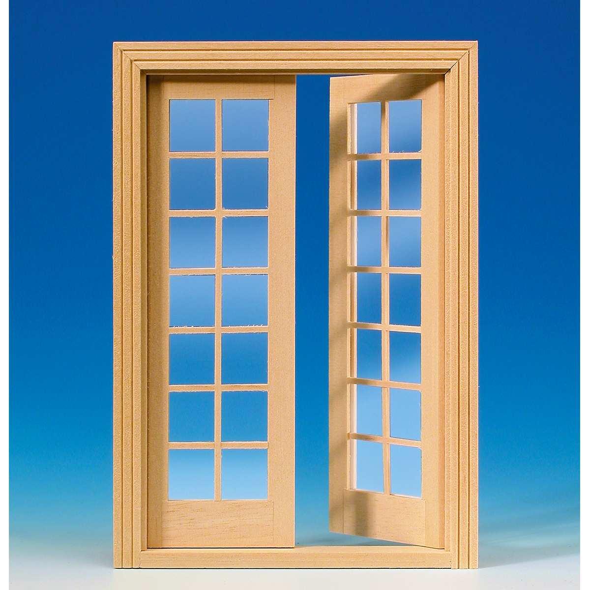 French double-door