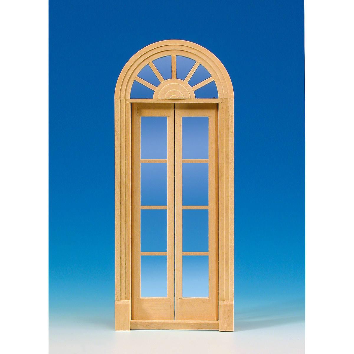 Palladio-Tür, mit Glasscheiben