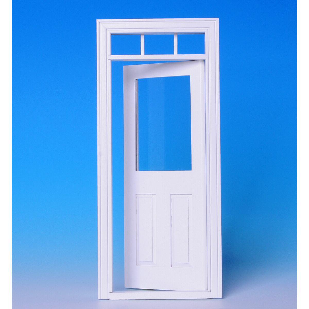innent r mit glasscheibe wei 60181. Black Bedroom Furniture Sets. Home Design Ideas