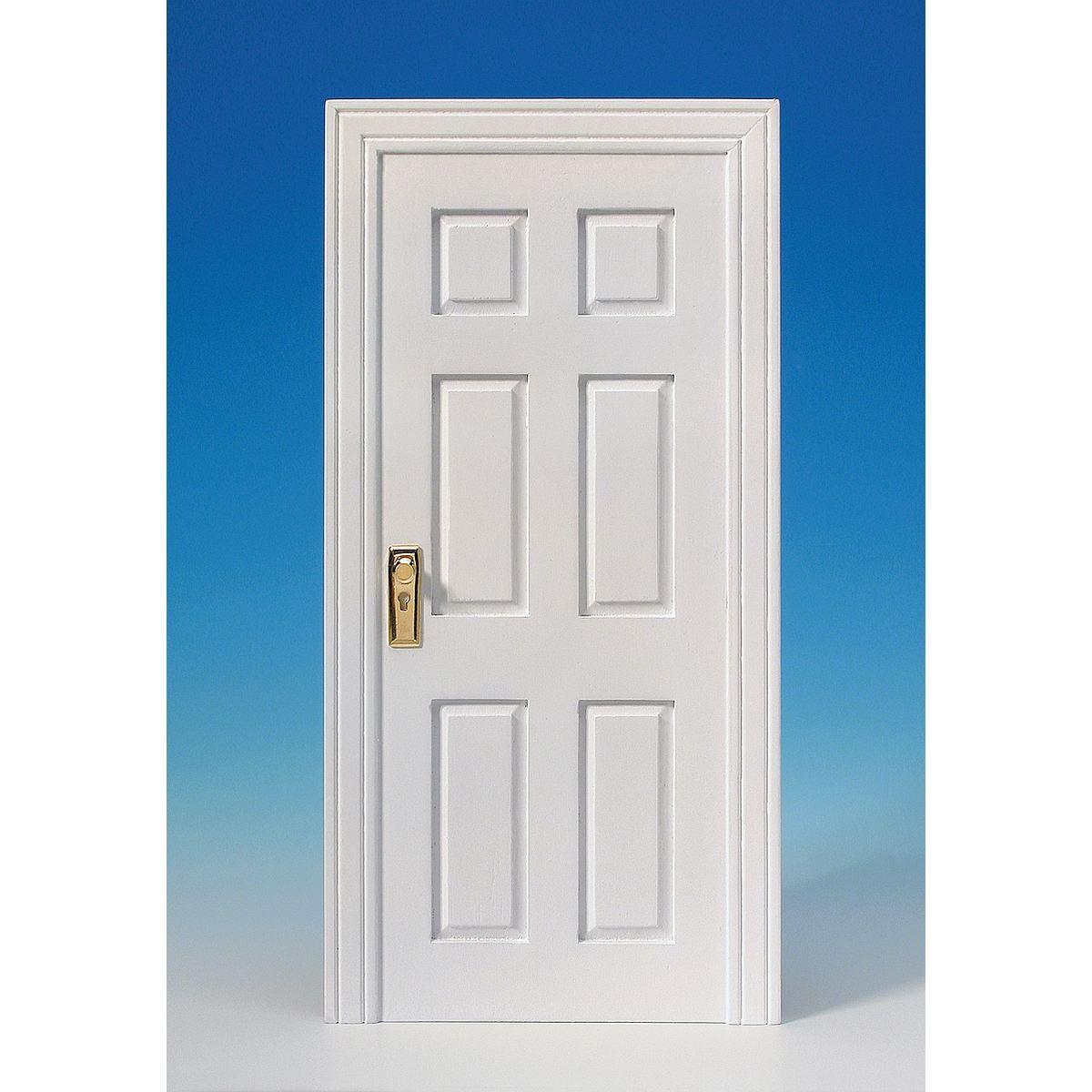 t r attrappe wei ideal f r die modul box 60311. Black Bedroom Furniture Sets. Home Design Ideas