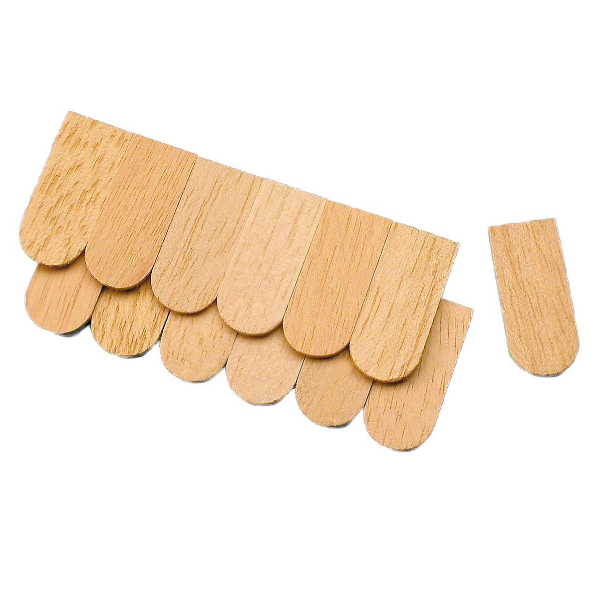 Narrow roof shingles - 100 pieces