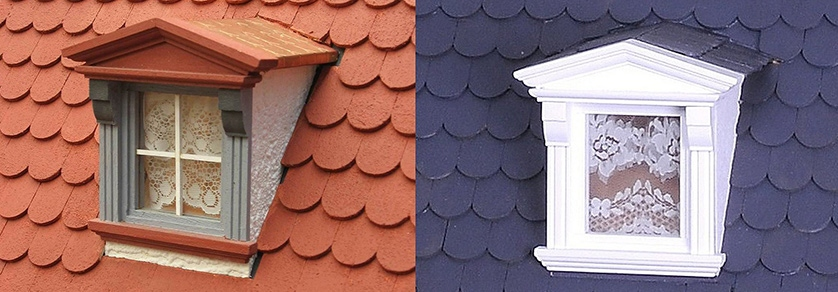 Roof shingles and tiles