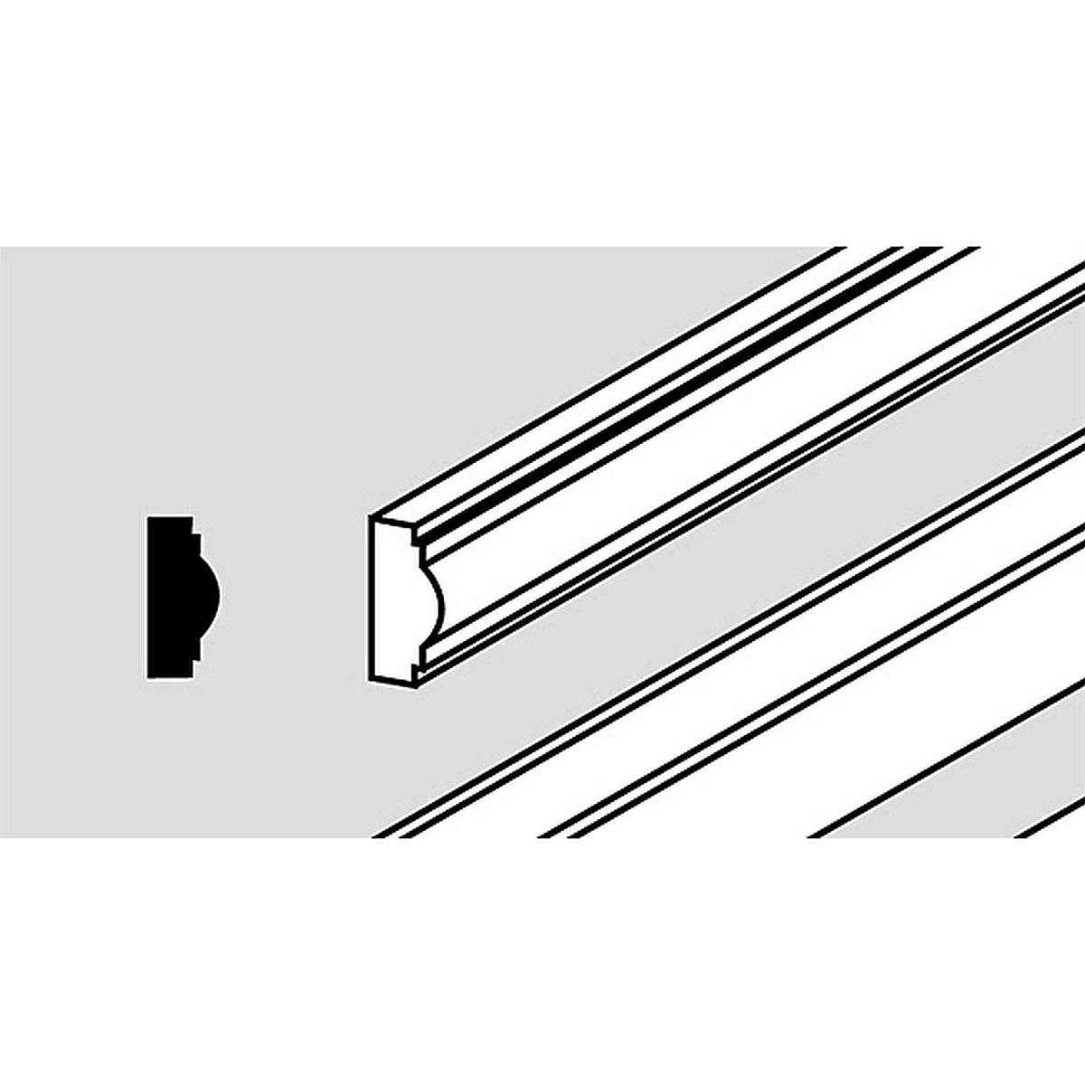 Wandpaneel-Leiste