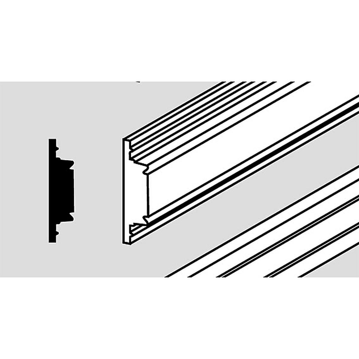 Decorative profile strips