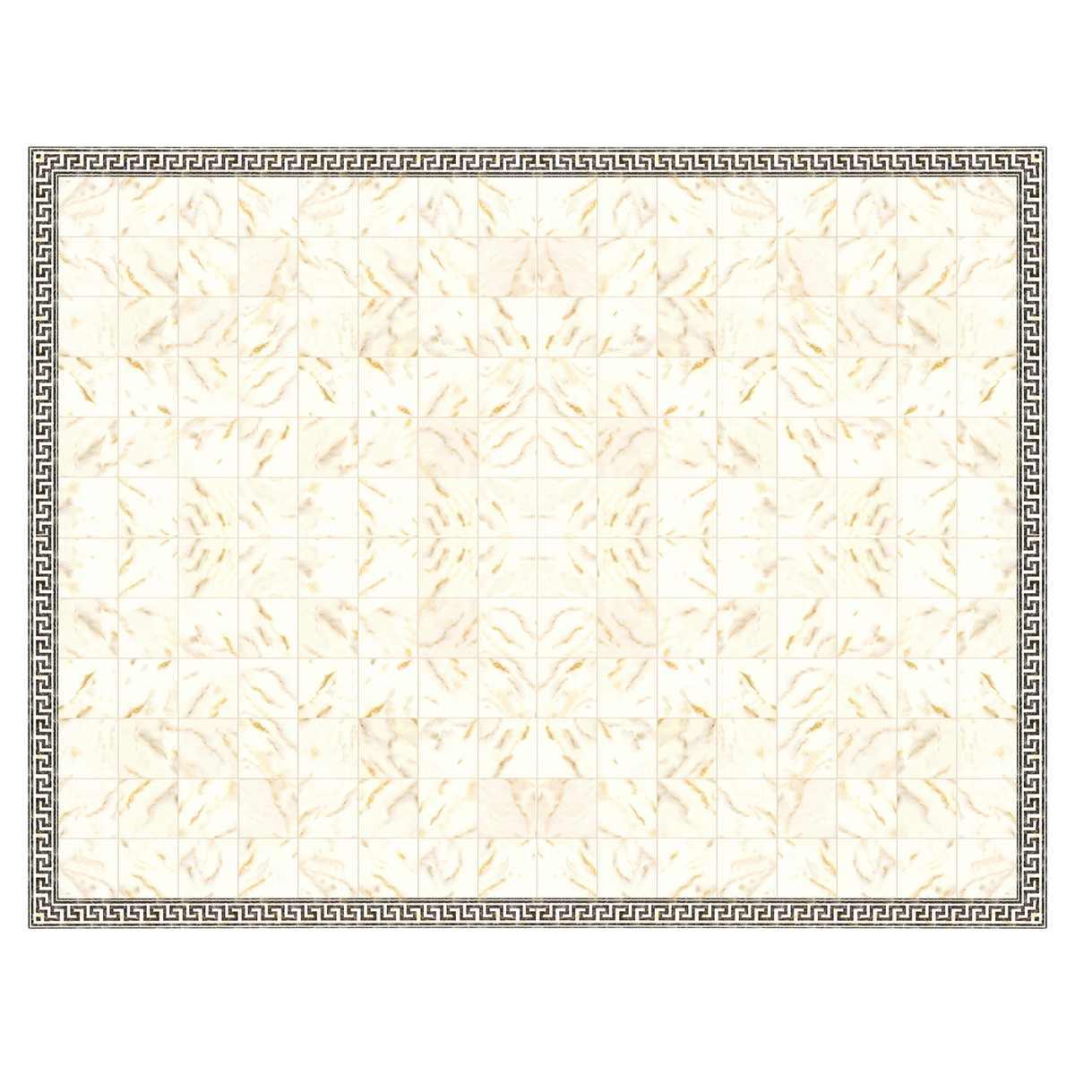 Marmorplatten-Folie, weiß, 425 x 325 mm