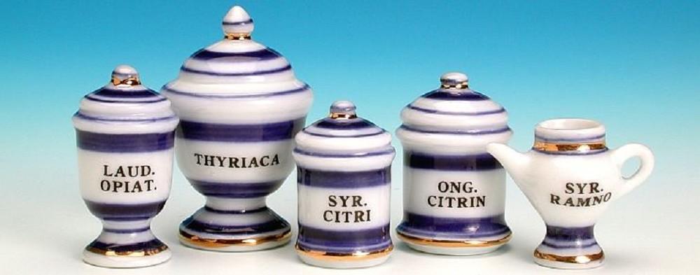 Pharmacy pots